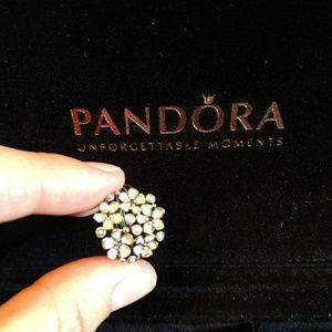Pandora cherry blossom cluster Size 7 ring