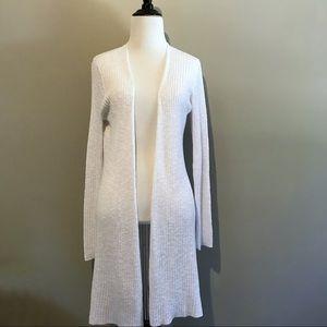 White Eileen Fisher Organic Linen Blend Sweater