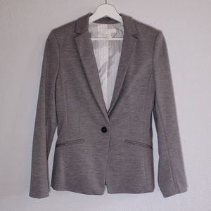 H&M One Button Blazer Lined Inside Womens Size 8