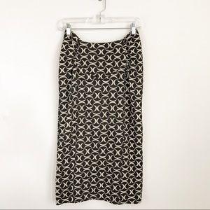 Diane Von Furstenberg Midi Pencil Skirt 6