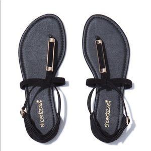 Martisha T Strap sandals