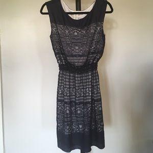 Cinched Waist Short Sleeve Dress