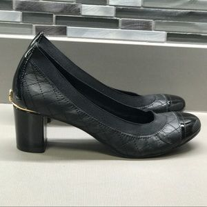 Tory Burch heels. Wore 5 times. Size 7