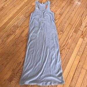 Target gray racerback maxi dress