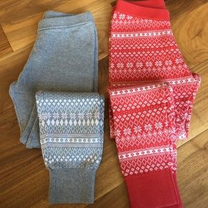 Other - Bundle of 2 Knit Leggings/Pants