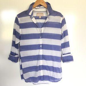 Banana Republic striped Soft wash shirt