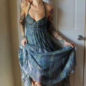 BCBG Halter Maxi Dress