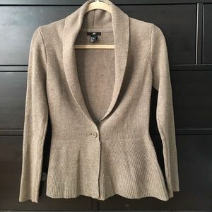 Sweater Blend Blazer