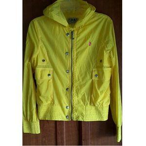 Juicy Couture Yellow Rain Coat