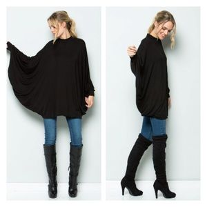 ✨HOST PICK✨ Poncho, Tunic Top