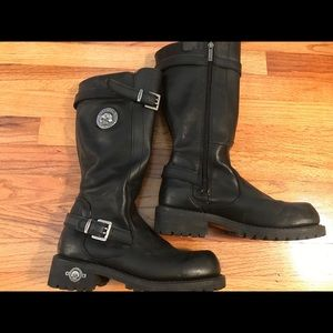 Genuine Authentic HARLEY DAVIDSON Riding boots
