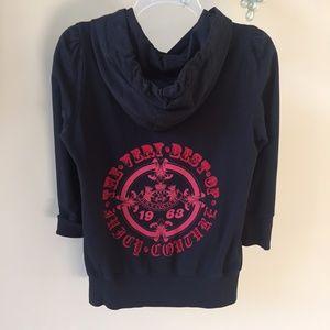 Juicy Couture The Very Best of 3/4 Sleeve Hoodie M