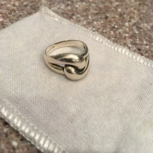 James Avery Sterling Silver Love Knot Ring