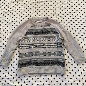 NWOT L Old Navy Sequin Front Sweater