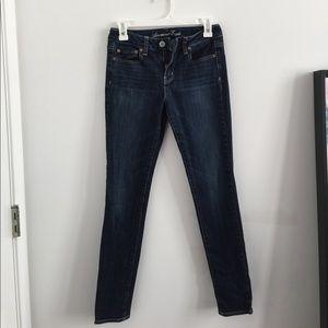 AMERICAN EAGLE Dark Wash Jean