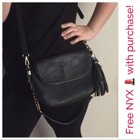 b4612b89e839 madison west Handbags - Madison West - vegan leather black cross body bag