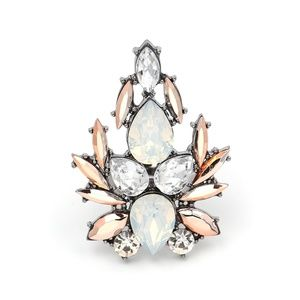 Coming Soon!! Silver Crystal Topaz Statement Ring