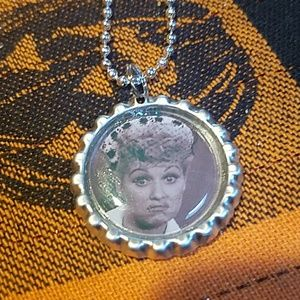 New I love lucy necklace