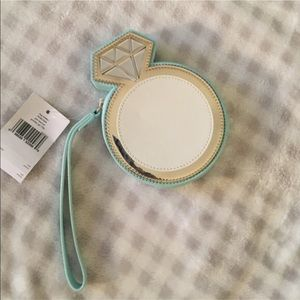 NWT Kate Spade Engagement Ring Purse