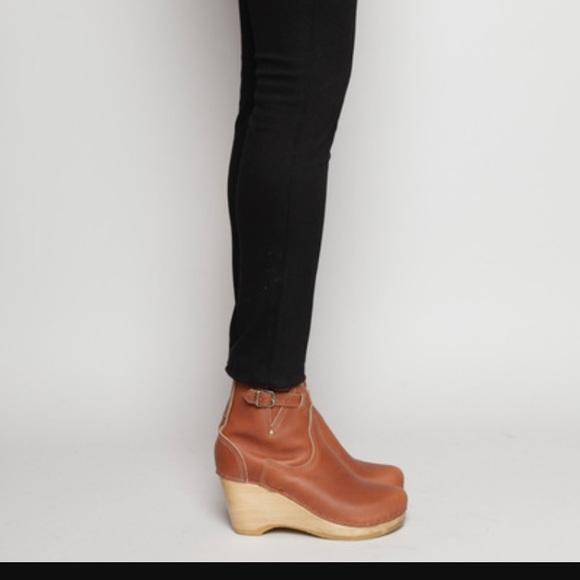 Buckle Wedge Clog Boots | Poshmark