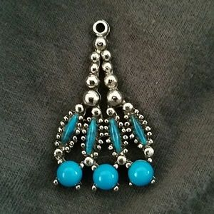 70's necklace charm.