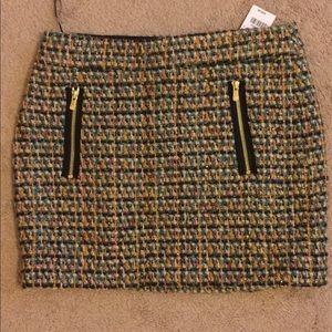 J.crew wool skirt size 4 new