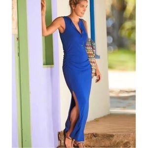 Athleta Maxi Slit Dress