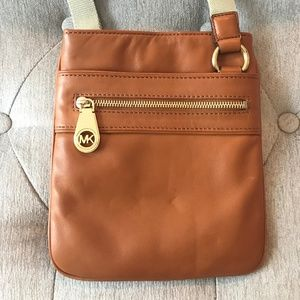 MICHAEL Michael Kors Tan Crossbody Bag