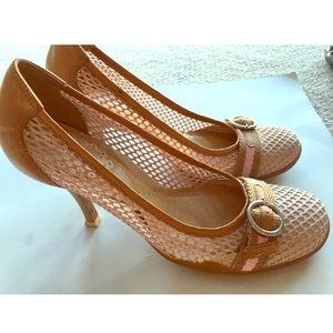Aldo Sporty Heels, Pink, Size 7,m.