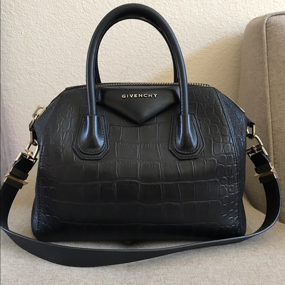 152e2a5473 Givenchy Handbags - Authentic givenchy Antigona pm black crocodile