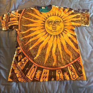 a7d3b921eefd Shirts | Rare Switch Sun Moon T Shirt Amazing Artwork | Poshmark