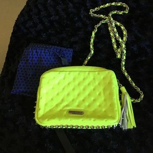 Neon yellow Rebecca Minkoff. 💯 authentic