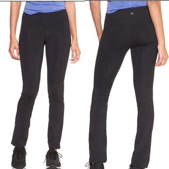 55% off GAP Pants - Gap GapFit XS Black Slim Straight Leggings ...
