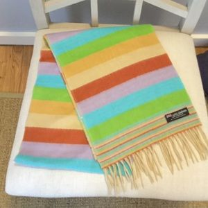 Accessories - Colorful Cashmere Scarf