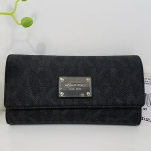 MICHAEL Michael Kors Jet Set Item Checkbook Wallet
