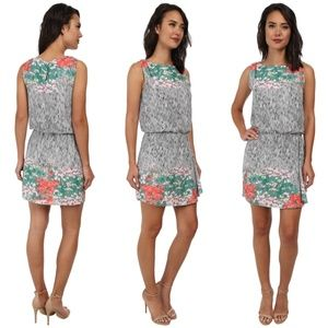 Sam Edelman printed dress with Keyhole back