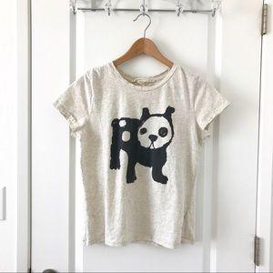 😍 100% Soft Cotton Dog Print T-shirt