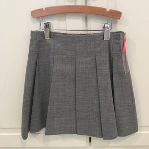 Girls school girl pleated skirt
