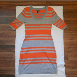 Allison Brittney Knit Rayon Sweater Dress EUC