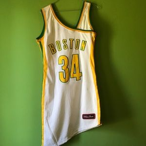 throwback jersey dresses