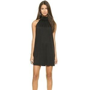 Susana Monaco Silk Tie neck shift dress