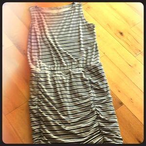 Athleta striped tulip dress