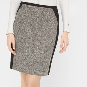 WHBM tweed skirt