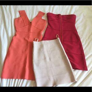 BCBG dresses and skirt!!!