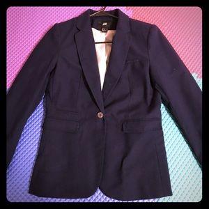 H&M Navi blue blazer