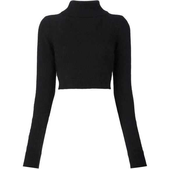8dde343ad61 Topshop Cropped Turtleneck Sweater. M 59ca6765bf6df523f30bc8b3