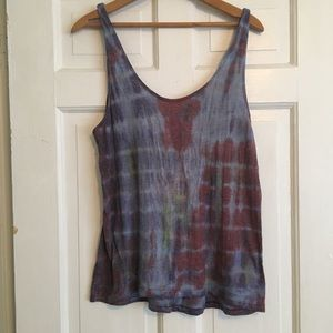 Urban Outfitters Ecote tie dye tank. M