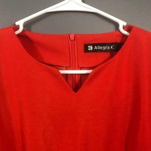 Allegra K Tops - 🍋3/$15🍋 Allegra K • Long Sleeve Peplum Top