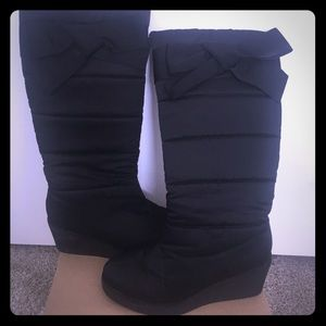 Kate spade wedge winter boots.