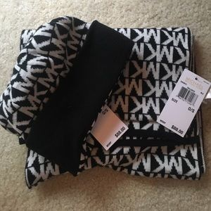 Jackets & Blazers - Micheal kors hat and scarf set